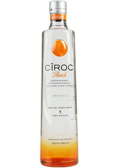 VODKA CIROC PEACH
