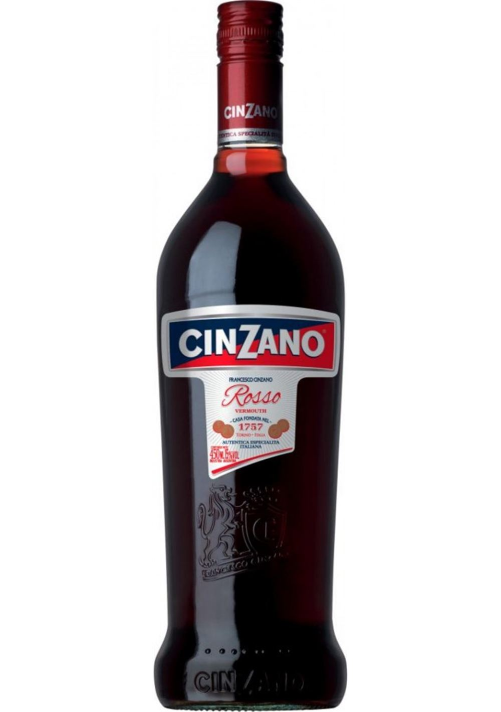 VERMOUHT-CINZANO-ROJO