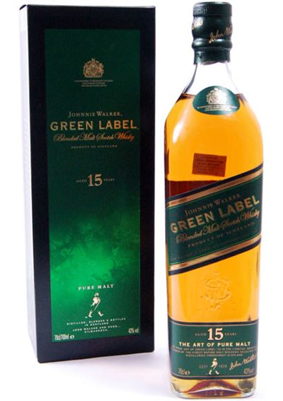 JOHNNIE WALKER 15 GREEN