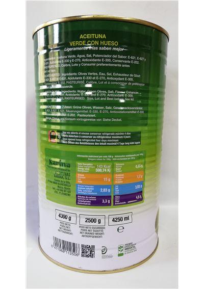 ACEITUNA CH 2500G KARINA