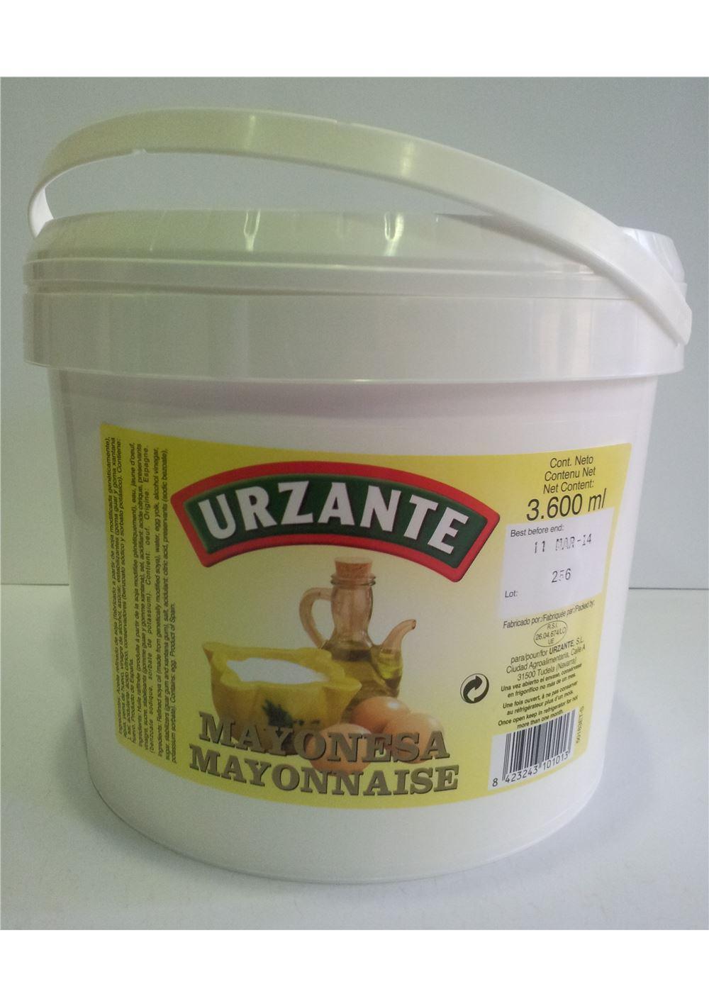 MAYONESA URZANTE3,6L